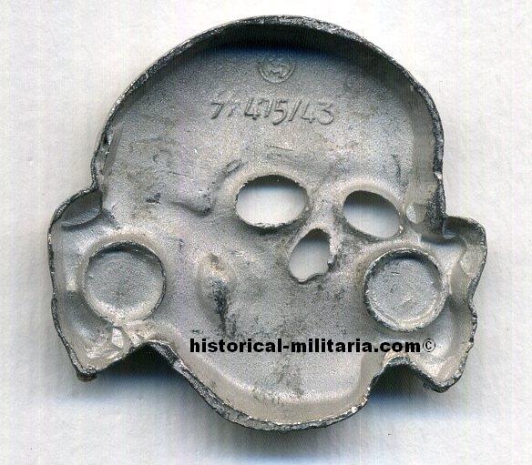 SS Totenkopf - SS skull RZM markings - R I  International Trading